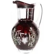 Купить <b>Кувшин для воды</b> Ajka <b>Crystal</b> Grape 1,2 л (арт. darkruby ...
