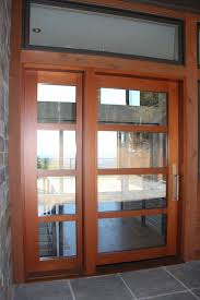 image of contemporary exterior doors with glass