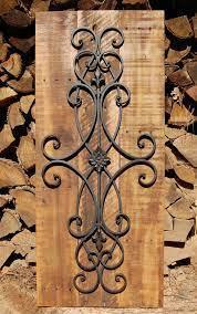 decorative rustic wall art wrought
