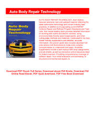Automotive Body Design Pdf Auto Body Repair Technology P D F