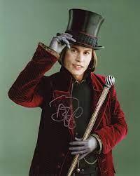 Amazon.de: Johnny Depp - Willy Wonka Signiert Autogramme 25cm x 20cm Foto