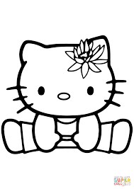 Hello Kitty Coloring Pages App Printable Coloring Page For Kids