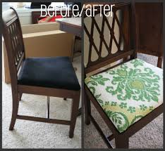 how reupholster dining chair seat steps with tures room chairs before and after inspiration best reupholstering leather dining chair pads