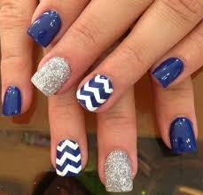 Simple Nail Design Ideas 65 Lovely Summer Nail Art Ideas Navy Blue Nail Designsdesigns
