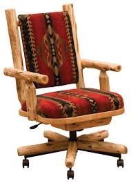 rustic office chair. Home And Interior: Extraordinary Rustic Desk Chair Of Western Office From Likeable