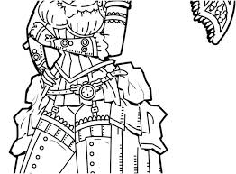 Fantasy Coloring Pages Art Colouring Final 7 To Print Color For