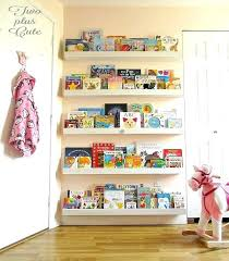 nursery shelving ideas use the empty space behind your doors for books spaces within nursery shelving nursery shelving