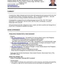 Ccnp Resume Sample For Freshers Resume Format For Ccna Freshers Enderrealtyparkco 10