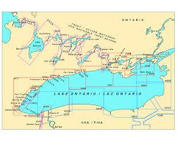 Lake Ontario Chart Lake Ontario Trent Severn Waterway Charts