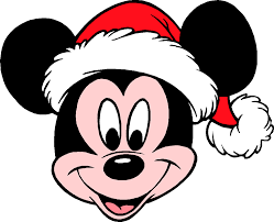Mickey Mouse Png - Mickey With Santa Hat Clipart - Full Size Clipart  (#429341) - PinClipart