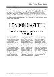 victorian newspaper template victorian newspaper template oliver twist by cuteminkin mandegar info