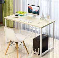 brilliant simple desks. Architecture And Home: Luxurious Simple White Computer Desk Of TWANIS Clean Chair From Brilliant Desks O