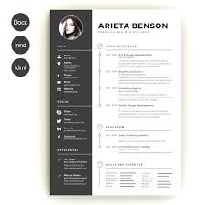 Free Creative Resume Templates Sample Get Sniffer