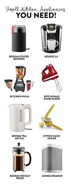 Essential Kitchen Appliances Fresh Idea To Design Your Small Kitchen Appliances That Can Make A