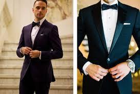 Black tie wedding mens