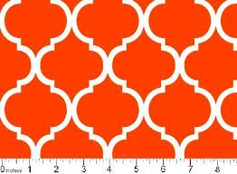 Cotton Quilt Fabric Colorful Quatrefoil Orange And White - AUNTIE ... & Cotton Quilt Fabric Colorful Quatrefoil Orange And White - product image Adamdwight.com