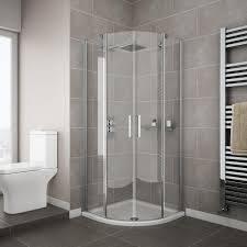 apollo frameless double door enclosure the best shower enclosures for small bathrooms