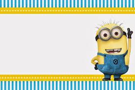 Minion Birthday Party Despicable Me Birthday Invitations Templates