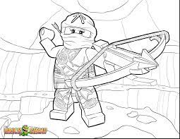 Coloring Pages of Cole From Ninjago Sereis (Page 1) - Line.17QQ.com