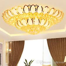 modern led crystal chandeliers luxury lotus flower high end k9 crystal chandelier hotel lobby villa led pendant chandeliers with bulbs spiral chandelier