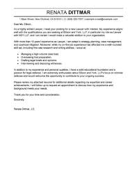 Student Entry Level Cover Letter Law Firm Cover Letter Sample