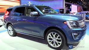 2018 ford expedition interior. Exellent Ford 2018 Ford Expedition Platinum  Exterior And Interior Walkaround 2017 New  York Auto Show With Ford Expedition Interior T