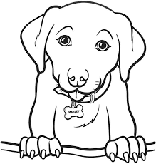 Small Picture 52 Best Printable Dog Coloring Pages Gianfredanet