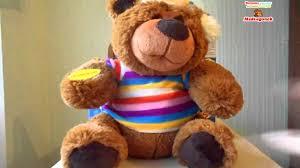 Видеообзор: Говорящий <b>игрушка</b> Медведь-сказочник с USB ...