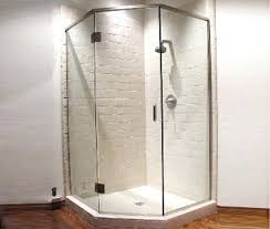 framed frameless shower doors glass