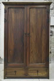 reclaimed barn wood armoire  modern dark – artesano home decor