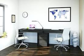 two desk home office. Best Desk For Home Office Ideas Two Desks  And Regarding Person Small Uk Double Two Desk Home Office I