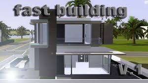 Small Picture SIMS 3 speed building small modern house V1 IHDI YouTube