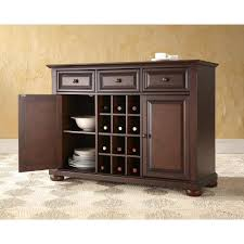 Buffet Kitchen Furniture Dark Brown Wood Sideboards Buffets Kitchen Dining Room