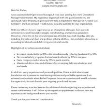 Facility Manager Cover Letter For Resume Heegan Times