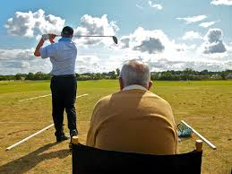 Bob Torrence observing John Carr | Fore Golf | Flickr