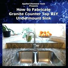 cut countertop how to cut for kitchen sink combined with how to fabricate granite cut polish sink to frame cool cutting hole for kitchen sink in laminate