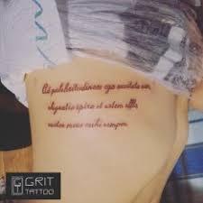 Tetování Latinské Citáty Bok Tetování Tattoo