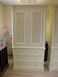 hand painted white bedroom furniture. wardrobes: hand painted wardrobe armoire white ivory french 2 door jali style solid bedroom furniture