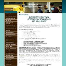 best iep images autism classroom speech  this iep goal bank is the place where you can deposit your own iep