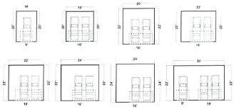 two car garage dimensions garage doors merements average size of two car garage door home garage