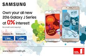 Small Picture Home Credits Samsung Galaxy J Series Promo is Back Home Credit