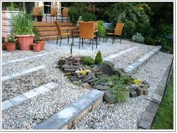 outdoor rock patio architecture garden ideas with white chairs also stone a72