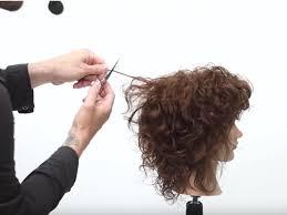 How To Cut A Curly Shag American Salon
