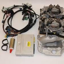 454 502 tbi kits howell efi conversion wiring harness experts ht2x4bb ht2x4bbd tbi kit twin tbi kit for big blocks