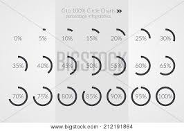 30 45 60 Chart Percentage Vector Vector Photo Free Trial Bigstock