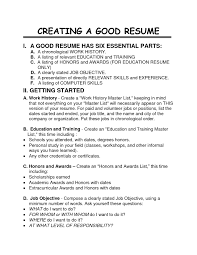 Great Job Resume Examples Resume For Study