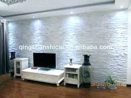 white stone wall living room walls decorative interior design wal