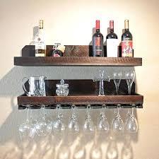 wine racks floating shelf rack glass holder rustic hanging stemware x px shelves win wine glass rack pottery barn79 rack