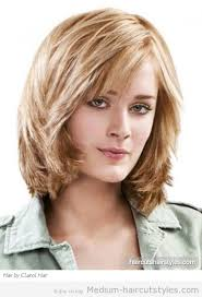 um length layered hairstyles for older women