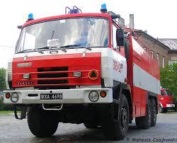 Fire Engines Photos - 305[w]26 GCBA 8,2/32 - Tatra 815 - Warsaw, Poland